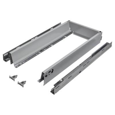 Blum TANDEMBOX ANTARO Drawer Pack - BLUMOTION Soft Close - (H) 84mm x (D) 550mm x (W) 400mm - Grey