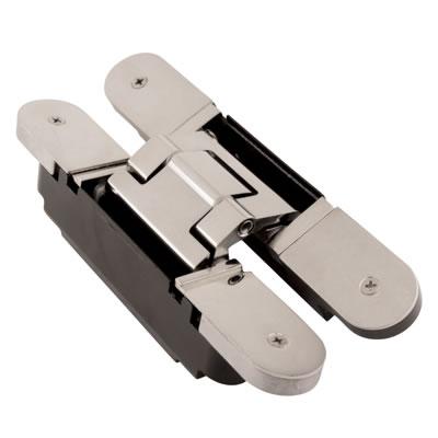 Simonswerk Tectus TE240 3D Hinge - 155 x 21mm - F1 Matt Chrome - Pair