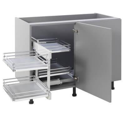 Kitchen Cabinet Storage Blind Corner Optimiser Plus - Cabinet Width 1000mm)