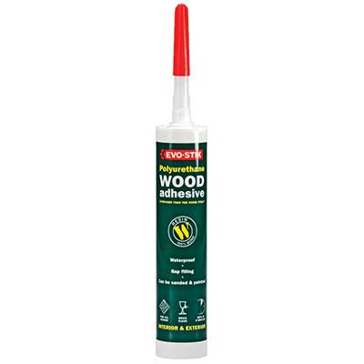 Evo-Stik Polyurethane Wood Adhesive - 310ml)