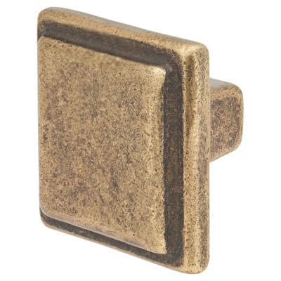 Crofts & Assinder Windsor Iron Cabinet Knob - 34mm - English Bronze