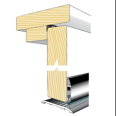Norsound Retro Fit Acoustic Drop Seal Solution Pack)