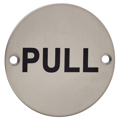 Pull - 75mm - Satin Stainless Steel)