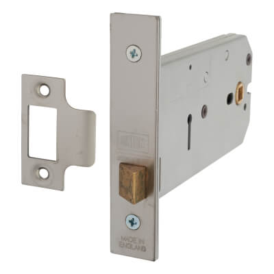 UNION® 26773 Horizontal Latch - 149mm Case - 51-127mm Backset - Satin Chrome