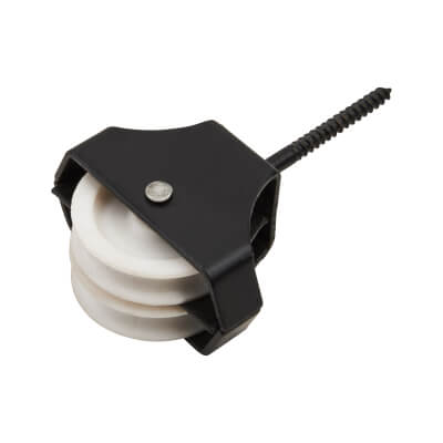 Line Pulley - Double Screw