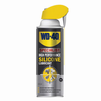 WD40 High Performance Silicone Lubricant - 250ml)