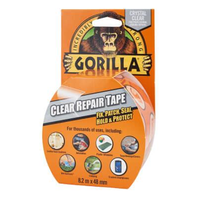 Gorilla Repair Tape - 48mm x 8m - Clear)