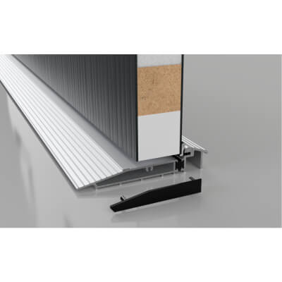 Stormguard Proline AM5EX Outward Threshold - 2000mm - Outward Opening Doors - Silver