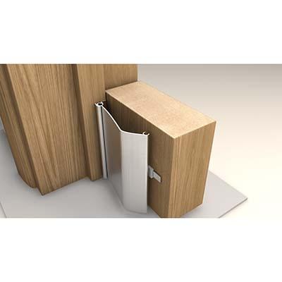 Norsound Alufast Finger Protector - 1800mm - Aluminium