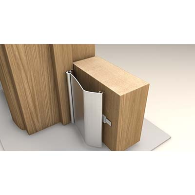 Norsound Alufast Finger Protector - 1800mm - Aluminium