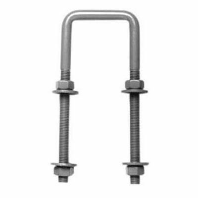 Hunting Type Self Locking Auto Gate Catch - Strike Bolt Through - Zinc Plated