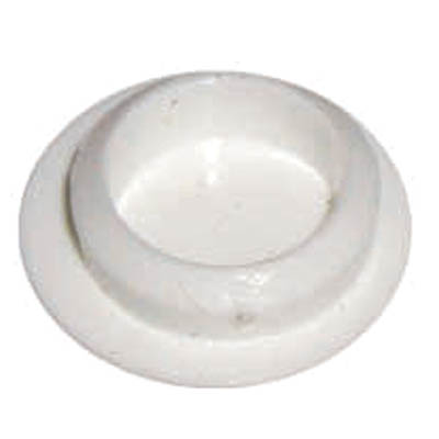 Hole Screw Cover Cap - 6-8mm - White - Pack 100