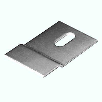 Offset Fixing Bracket - 41 x 25mm - Zinc Plated Steel - Pack 10