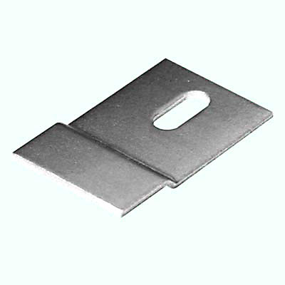 Offset Fixing Bracket - 41 x 25mm - Zinc Plated Steel - Pack 10