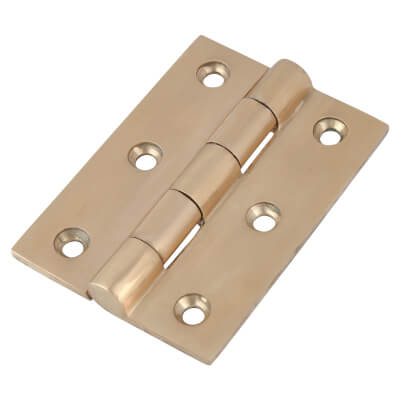 Louis Fraser Door Hinge - 76 x 58mm - Oil Rubbed Bronze)