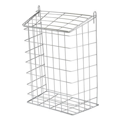 Letter Cage - 305 x 229 x 127mm - Polished Chrome)