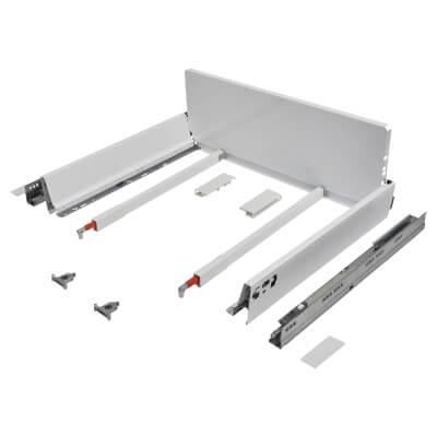 Blum TANDEMBOX ANTARO Pan Drawer - BLUMOTION Soft Close - (H) 203mm x (D) 450mm x (W) 600mm - White)