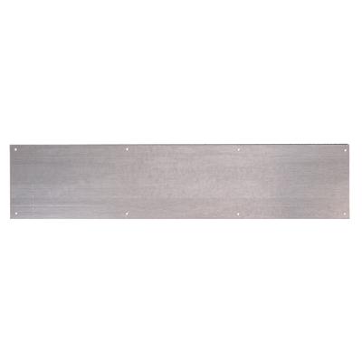 Kick Plate - 760 x 150 x 1.2mm - 8 Screw Holes - Galvanised Steel