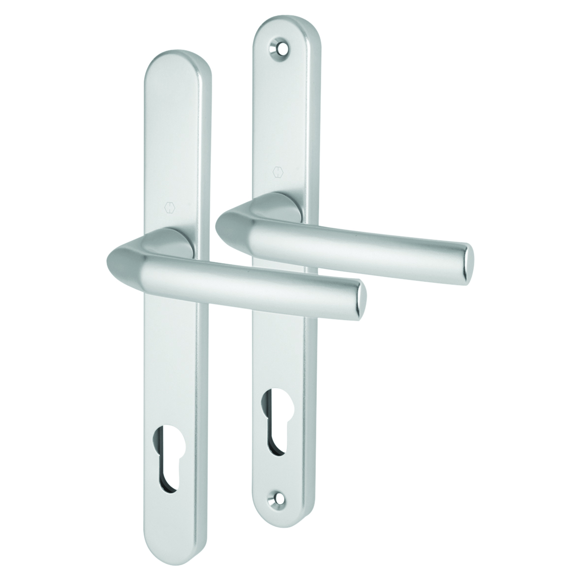 Hoppe Birmingham - uPVC/Timber - Multipoint Long Plate Handle - 92mm centres - 70mm door thickness