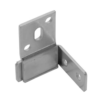 Secret Panel Fixing - 45 x 25 x 32 x 16mm - Zinc Plated Steel - Pack 10)