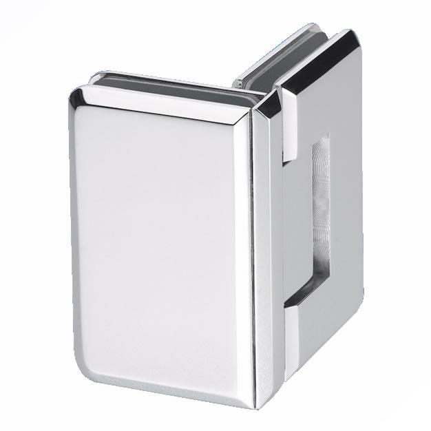 Glass to Glass Shower Hinge - 90° - 6-8mm Glass