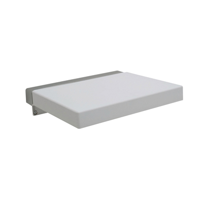 Nymas Designer Shower Seat - White