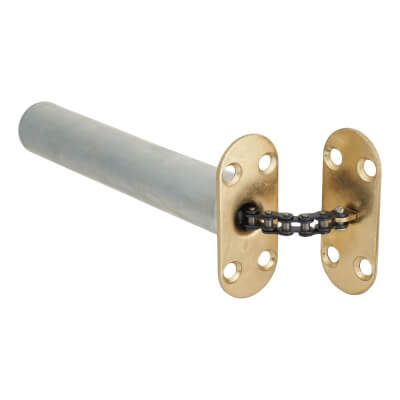 Chain Closer - Radius Plate - Brass Plated