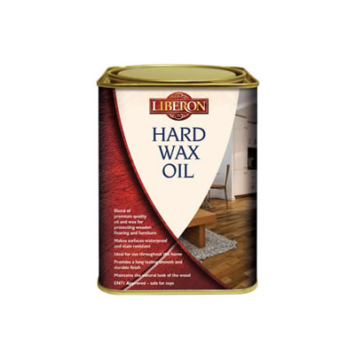 Liberon Hard Wax Oil - Clear Satin - 1000ml)