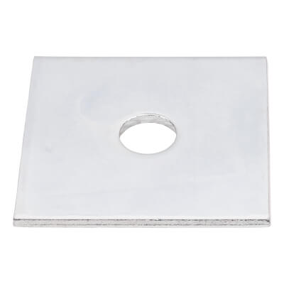 Square Plate Washer - M10 x 50mm - Pack 30)
