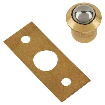 Bales Catch - 13mm - Electro Brass - Pack 10