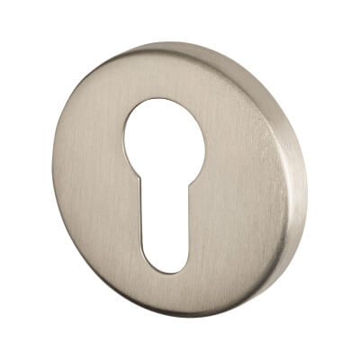 Project Escutcheon - Euro - Satin Stainless Steel