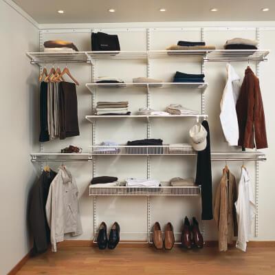 elfa® Wardrobe Kit 10 - White)