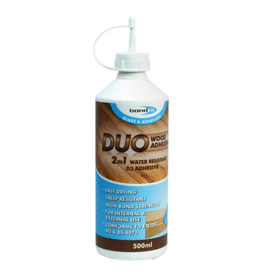 Bond It Duo PVA Wood Glue - 1000ml)