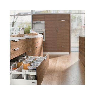 Blum Tandembox Antaro Pan Drawer - BLUMOTION (Soft Close) - (H) 206 x (D) 550 x (W) 900mm - Grey