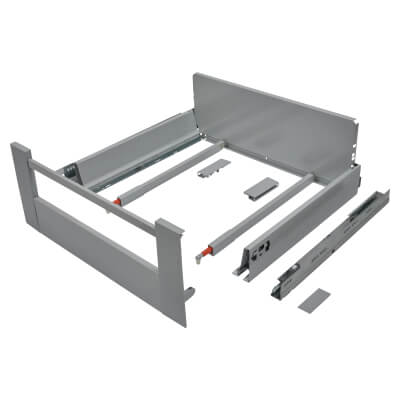 Blum TANDEMBOX ANTARO Internal Drawer - BLUMOTION - (H) 203mm x (D) 450mm x (W) 500mm - Grey