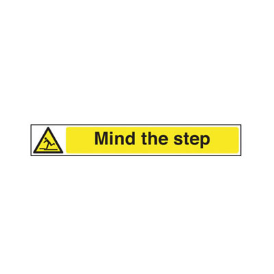 Mind The Step - 400 x 60mm