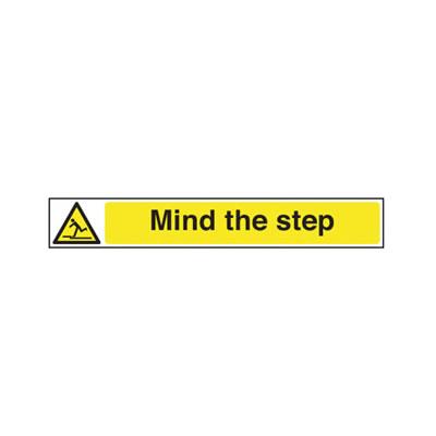 Mind The Step - 400 x 60mm