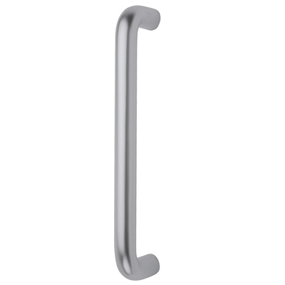 Altro 20mm Bolt Fix Pull Handle - 300mm Centres - Satin Aluminium