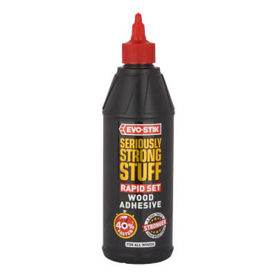 Evo-Stick Rapid Set Wood Adhesive - 500ml