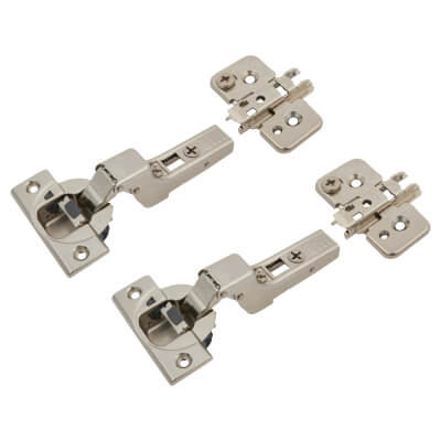 Blum CLIP Top Soft Close Cabinet Hinge Pack - 110° - Inset - Pair)