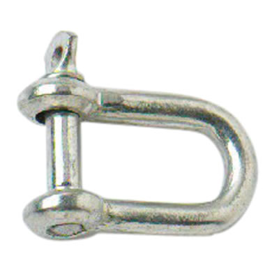 Dee Shackle - 10mm - Zinc Plated - Pack 10