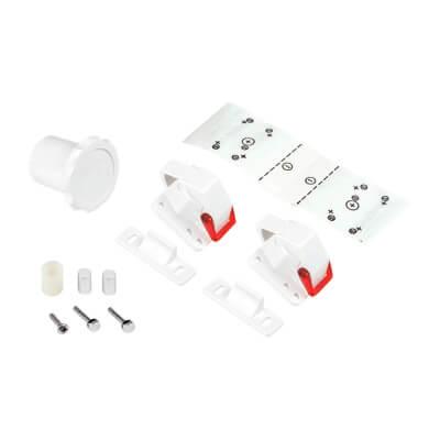 Reva Lock Magnetic Child Safety Cabinet Lock - Pack 2)