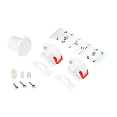 Reva Lock Magnetic Child Safety Cabinet Lock - Pack 2