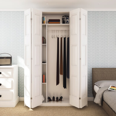 KLÜG Multifold 25 Sliding Door Fitting Pack - 4 Doors 2 Way