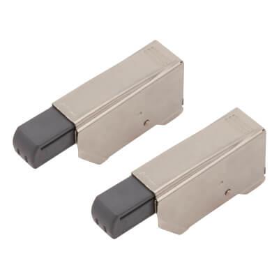 Blum CLIP On Soft Close Mechanism Double Cranked Arm - Type 1 - Inset