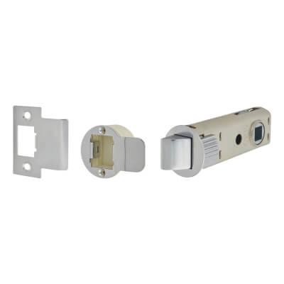 UNION JFL26 FastLatch Tubular Push-Fit Latch - 73mm Case - 57mm Backset - Polished Chrome)