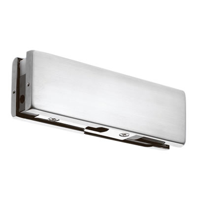 Over Panel Lock Strike Patch for Glass Doors