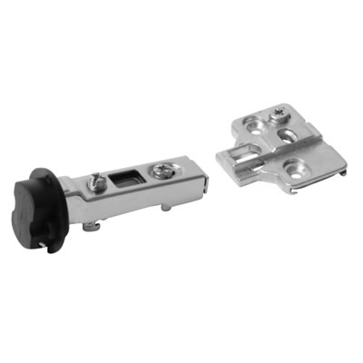 Motion Clip-On Glass Door Cabinet Hinge - 95° - Dual