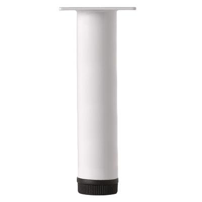 Round Furniture Leg - 32 x 100mm - White