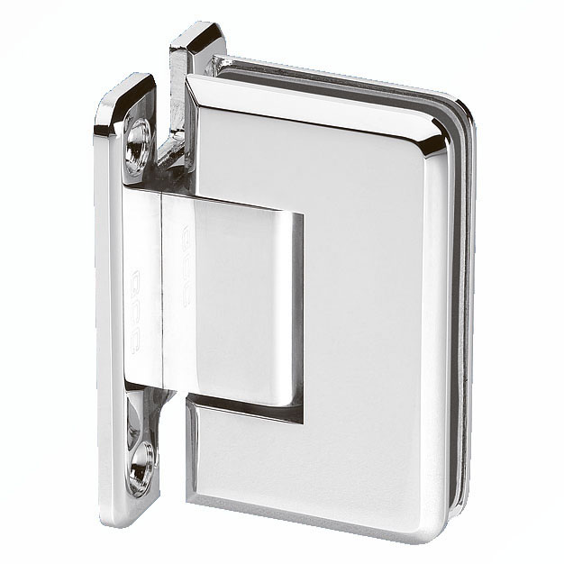 Wall Mount Shower Hinge - Double Sided - 6-8mm Glass